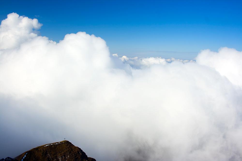 Den Wolken nah